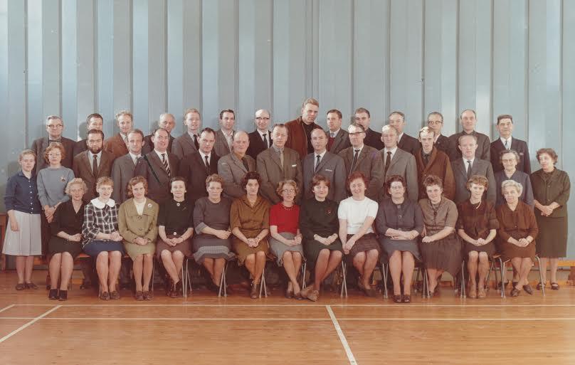 Hadsund skoles lærer 1962